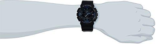 Casio-G-Shock-GA100-1A2-Ana-Digi-Speed-Indicator-Black-Dial-Mens-Watch