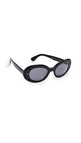 Oliver Peoples Eyewear Women's Erissa Sunglasses, Black, One ()