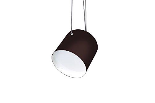 Pendente Halley, Cromalux, 303212, 25 W, Marrom/Branco