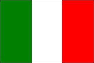 (3x5 FT Italy Italian Flag Sewn Stripes