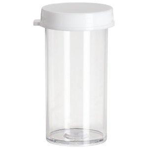 4c28344b1299 Amazon.com: Vials Clear Plastic Styrene 7 Dram Tube Containers 5 ...