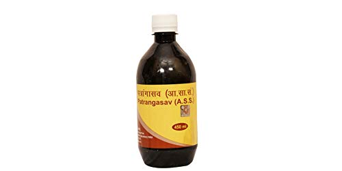 Baba Ramdev Patanjali Ayurved/Ayurvedic PATRANGASAV Natural Herbal (450ml)