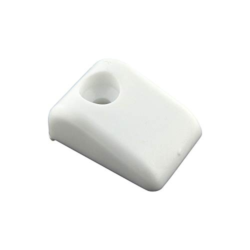 (Blum White Plastic Drawer Slide Bumpers for Roll-Out Shelves (Case of 50) )