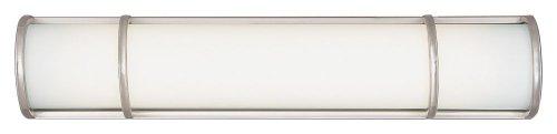 1336U Palette Bath Light, Satin Nickel ()