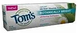 product image for Tom's of Maine Botanically Bright Whitening Toothpaste, Spearmint, 4.7 oz - 2pc