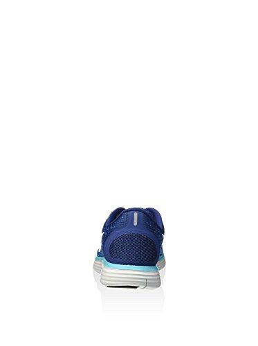 Nike Womens Wmns Free Rn Distance, Coast Blue / Off White-heritage Cyan, 8.5 Us