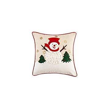 Amazon Com Cassiel Home Christmas Pillow Covers 18x18