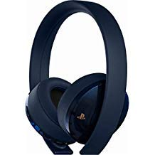 (Sony PlayStation 4 Gold Wireless Headset 7.1 Surround Sound 500 Million  - Nintendo Wii; GameCube)