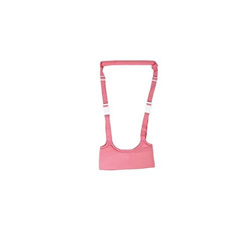 - Baby Toddler Walking Harness Walker Safe Stand Hand Held Walking Helper Walking Belt Adjustable Seatbelt Harness Walker (Pink)