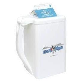 COOLMOO Insulated Carton Chiller for Milk Dairy Creamer Beverages 1 Quart