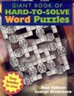 Giant Book of Hard-to-Solve Word Puzzles/Giant Book of Hard-to-Solve Mind Puzzles, Rodolfo Kurchan and Derrick Niederman, 140270285X