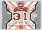 Priest Holmes (Football Card) 2007 SPx - Winning Materials - Jersey Number Dual #WM-PH