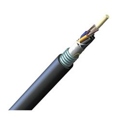 Armored Loose Tube - 1000' Corning 024EUC-T4101D20 24 Fiber OS2 Single mode ALTOS Lite Loose Tube Gelfree Armored Cable