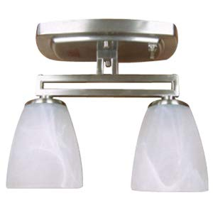 ITC Mirage Mission Series Two Bulb Dinette Light by ITC