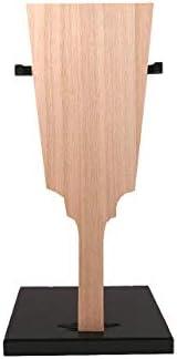 【羽子板材料】桐板 豆8寸(立ち台付)高さ25cm 押絵羽子板 創作用羽子板 羽子板の板 台付