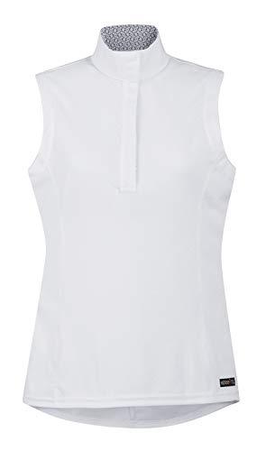Kerrits Spectrum Show Shirt Sleeveless White Size: L