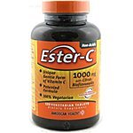 American Health Ester-C 1 000 mg with Citrus Bioflavonoids 120 vegetarian tablets 120 tablets - 3PC