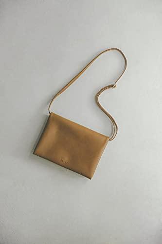 CLANE 3ROOM SHOULDER BAG BOOK BROWN 画像 B