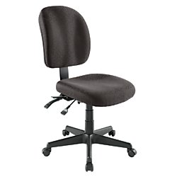 WorkPro Mobility Multifunction Fabric Task Chair, Black