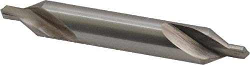 #4 Plain Cut, 60° Incl Angle, Cobalt Combo Drill & Countersink pack of 10 by Interstate