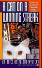 Front cover for the book A Cat on a Winning Streak by Lydia Adamson