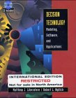 Decision Technology, Matthew J. Liberatore and Robert L. Nydick, 0471429023