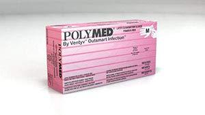 Ventyv Polymed Latex Exam Glove, Medium (7-7.5) PM103