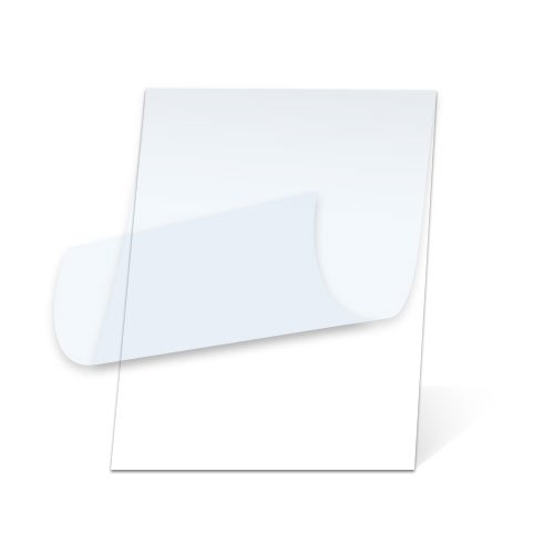 White 25 x 37 in. Heat Activated Foam Board with Luster Pouch Film by Lamination Depot