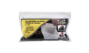 WOODLAND SCENICS C1192 Plaster Cloth Triple Roll 8 in x 30' from Woodland Scenics