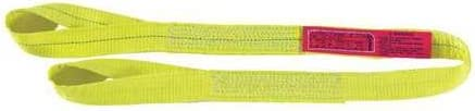 Web Sling, Type 4, Polyester, 2inW, 15 ft.L