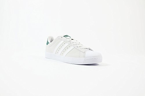 adidas Skateboarding Superstar Vulc ADV, crystal white/ftwr white/collegiate green WHITE WHITE GREEN