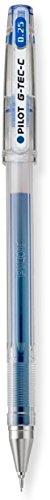 Razor Hyper Blue (Pilot G-Tec-C Gel Rolling Ball Pens Blue, Hyper Fine Point, 4-COUNT (35486))