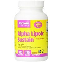 Jarrow Formulas Alpha Lipoic Sustain, 300 mg, 120 Count