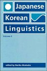 Japanese/Korean Linguistics, , 188152664X