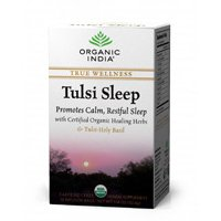 Organic India Organic Tulsi Herbal Tea, Tulsi Sleep, 18 Tea Bags