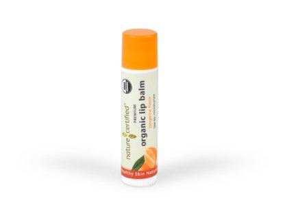 Certified Organic Lip Balm (100% Natural, Raw & USDA Certified Organic Lip Balm)