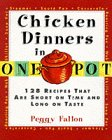 One-Pot Chicken Dinners, Peggy Fallon, 0060173165