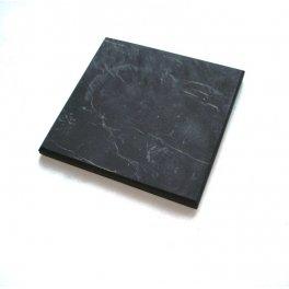 Shungite,schungit,shungit Stone unPolished tile 10x10cm