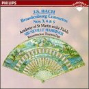 Bach: Brandenburg Concerti 3,4,5