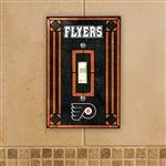(NHL Art Glass Switch Cover NHL Team: Philadelphia)