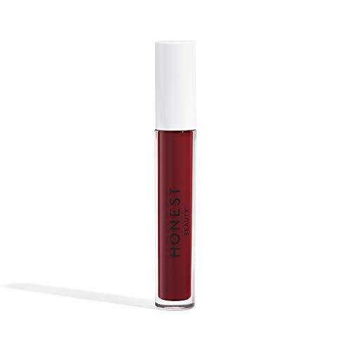 Honest Beauty Liquid Lipstick, Love | Vegan | Hydrating All-Day Wear & Flex Feel | synthetic Film formers Free, Silicone Free, Cruelty Free | 0.12 Fl. Oz