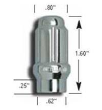 Gorilla Automotive 21128ET SMALL DIAMETER LUG NUTSE-T STYLE-Bulk-12mm x 1.