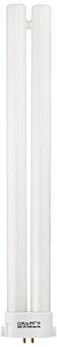 Coralife 05481 50/50 Square Pin Compact Fluorescent Lamp, 28-Watt (Compact Pin Coralife Square)