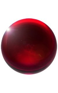 Red Acrylic Contact Juggling Ball - 76mm (3 Inches) for sale  Delivered anywhere in USA