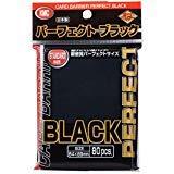 KMC Sleeves Perfect Sized Full Sized Black