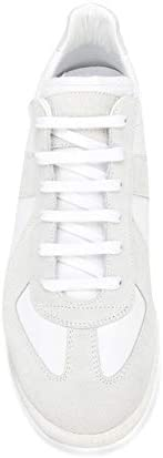 Maison Margiela Luxury Fashion Homme S57WS0236P1897101 Blanc Cuir Baskets | Automne-Hiver 20