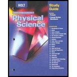Science Spectrum : Physics, Holt, Rinehart and Winston Staff, 0030670837