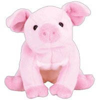 Amazon.com  TY Beanie Baby - HAMLET the Pig  Toys   Games e814eced3c6