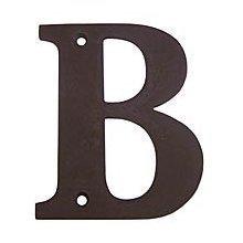 Deltana RL4B-10B 4-Inch Residential Letter B House Board