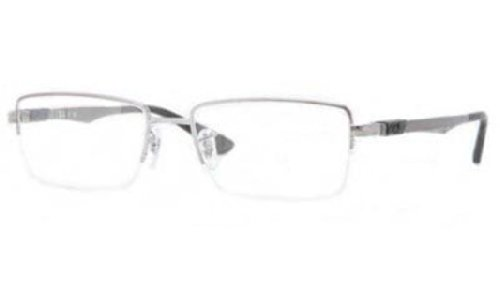 Ray-Ban Men's RX6263 Eyeglasses Gunmetal - Glasses Rayban Frame